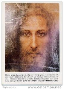 immagine di Gesu' della Nasa con l' aggiunta degli occhi Vivi