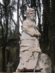 al cimitero protestante