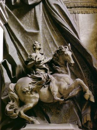 Costantino a cavallo