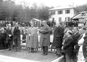 Santa Cristina d'Aspromonte Il discorso di inaugurazione del Sanatorio alla Presenza del Duca di Bergamo